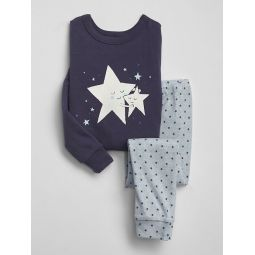 Organic Cotton Star PJ Set
