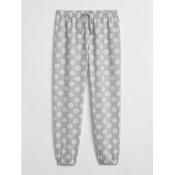 Print PJ Pants in French Terry