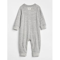 Baby Marled Pocket One-Piece