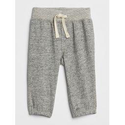 Marled Pull-On Pants