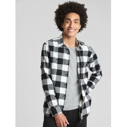 Standard Fit Flannel Shirt