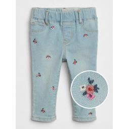 Embroidered Jeggings