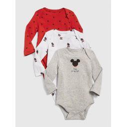 babyGap   Disney Mickey Mouse Bodysuit (3-Pack)