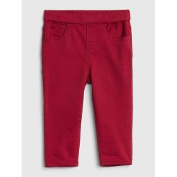 Pull-On Slim Jeans in Color