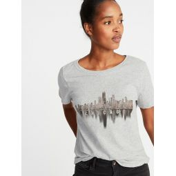 Chicago Graphic Tee For Women