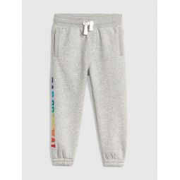 Logo Pull-On Pants in Fleece