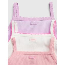 Baby Bow Cami Bodysuit (3-Pack)