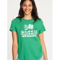 EveryWear St. Patricks Day Graphic Tee for Women