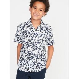 Classic Built-In Flex Oxford Shirt for Boys