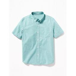 Built-In Flex Classic Poplin Shirt for Boys