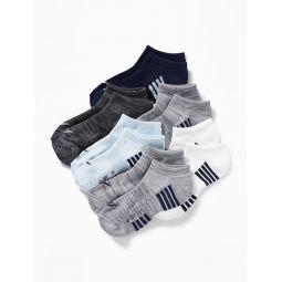Go-Dry Ankle Socks 6-Pack for Boys