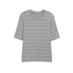 Soft Stretch Modal Crew-Neck T-Shirt