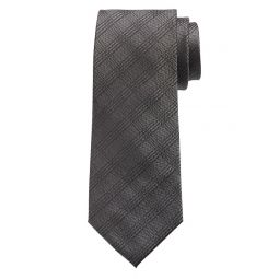 Tonal Grid Nanotex Tie