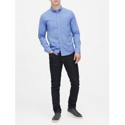 Untucked Slim-Fit Luxe Poplin Shirt