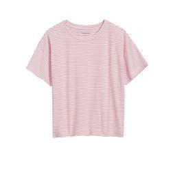 SUPIMA Cotton Cropped T-Shirt