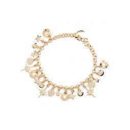 Star Disc Charm Bracelet