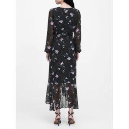 Floral Ruffle Maxi Dress