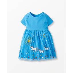 Unicorn Dress In Soft Tulle
