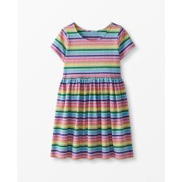 Bright Basics Stripe Dress