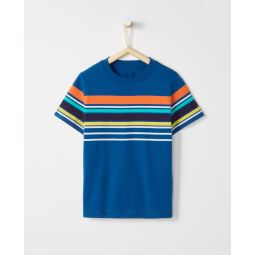 Sueded Jersey Colorstripe Tee