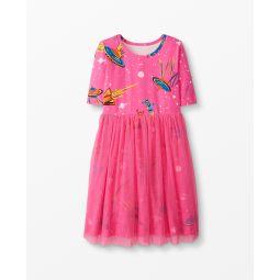 Make Believe Dress In Soft Tulle