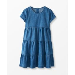 Twirl Power Chambray Dress