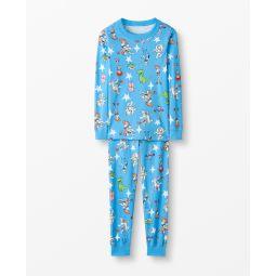 Disney and Pixar Toy Story 4 Long John Pajamas In Organic Cotton