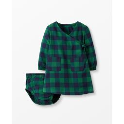 Buffalo Plaid Flannel Dress Set