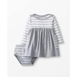 Bright Basics Dress Set In Organic Cotton