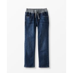 Double Knee Kickstart Slim Jeans