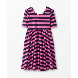 Twirl + Stripe Dress
