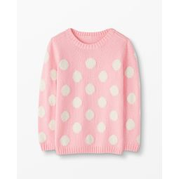 Marshmallow Dot Sweater