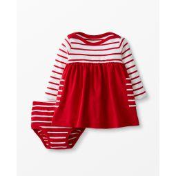 Bright Basics Dress In Organic Cotton