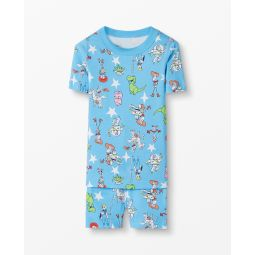 Disney and Pixar Toy Story 4 Short John Pajamas In Organic Cotton