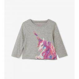 Enchanted Unicorn Long Sleeve Baby Tee
