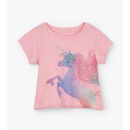 Rainbow Unicorn Baby Tee
