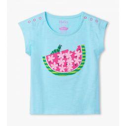Watermelon Slice Baby Tee