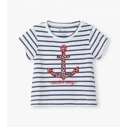Nautical Stripe Baby Tee