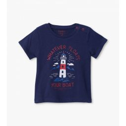 Lighthouse Baby Graphic Tee