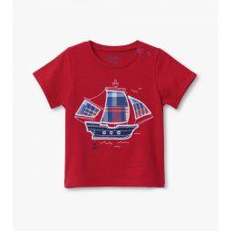 Nautical Ship Baby Graphic Tee