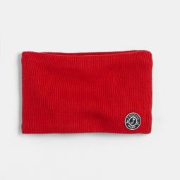 Toddler boy snood lined with polar fleece