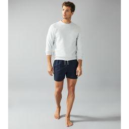 Sonar Navy Drawstring Swim Shorts