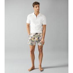 Richmond Sand Printed Swim Shorts