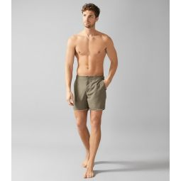 Presley Sage Swim Shorts With Side Adjusters