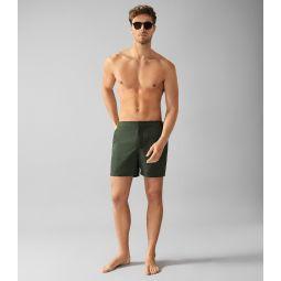 Jose Khaki Swim Shorts With Side Adjusters