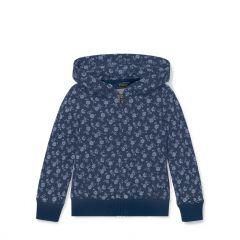 Floral-Print Cotton Hoodie
