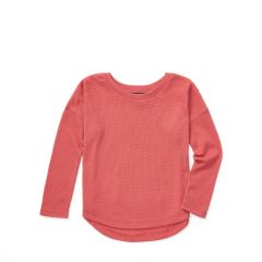 Waffle-Knit Top