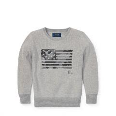 Camo Flag Cotton Sweater
