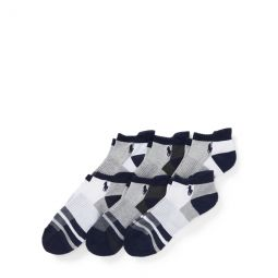 Striped Low-Cut-Sock 6-Pack
