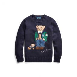 Polo Bear Cotton-Wool Sweater